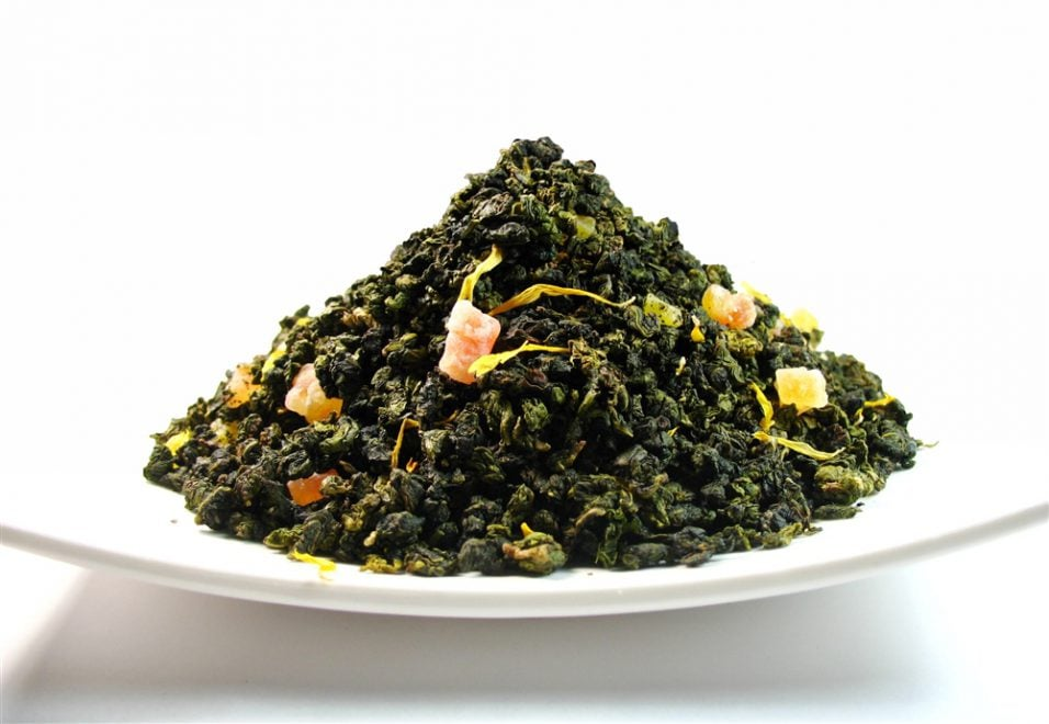 Oolong peache te